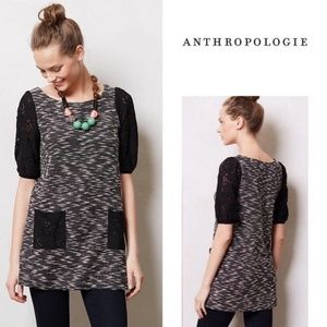 Postmark Anthropologie Staccato Lace Tunic Dress